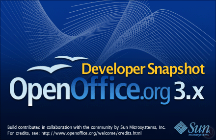 Open Office 3 Lansare Beta