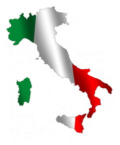 Italia map flag privacy